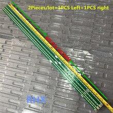 2Pieces/lot 60LED 602mm LED backlight strip for LG 55UF6450 55UH6150 55UF6430 6916L2318A 6916L2319A 6922L 0159A LC550EGE 100%NEW