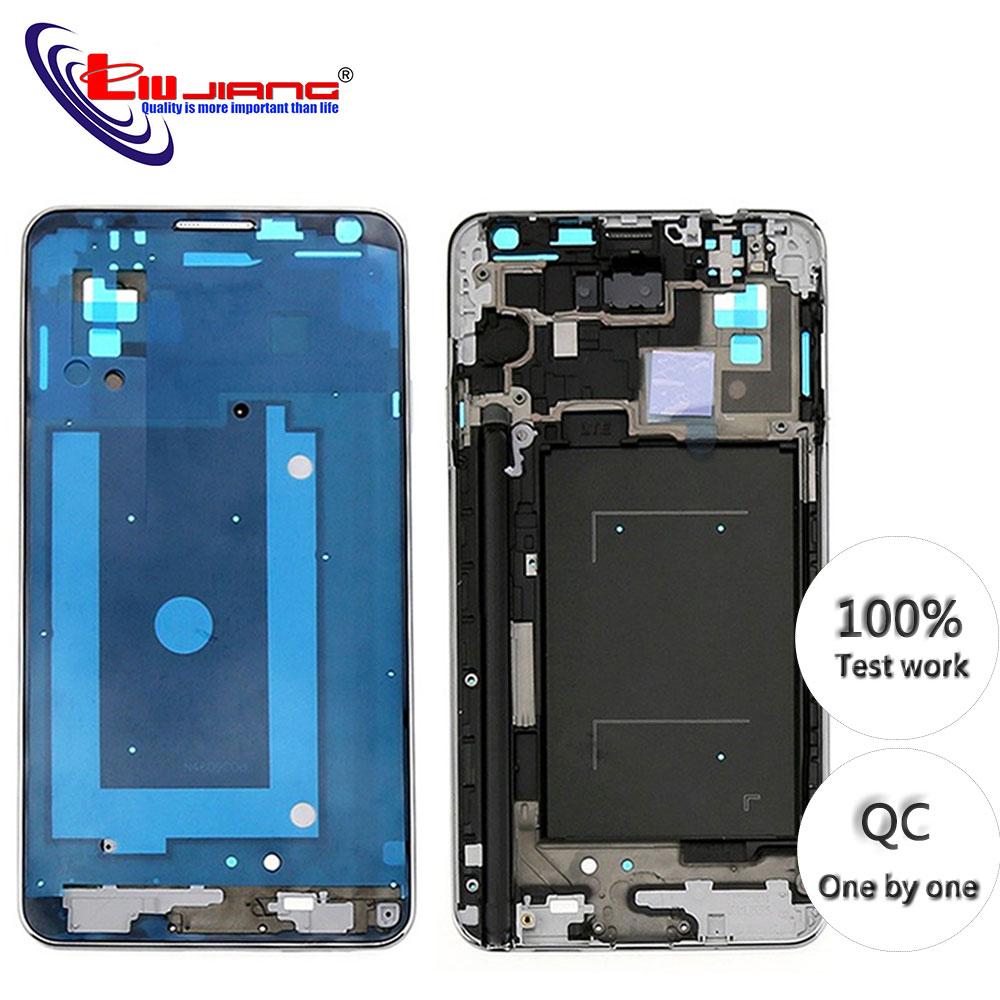 Originais Quadro Do Meio para Samsung Nota 3 N900 N900S N9005 Meio Placa Habitação Reparação Parte Substituição para Note3