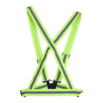 Breathable Traffic Night Work Security Running Cycling Safety Reflective Vest High Visibility Reflective Safety Jacket reflective sling night night work security running cycling safety reflective vest high visibility reflective safety jacket