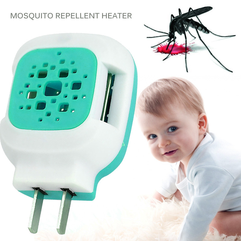 Electric Mosquito Repeller Plug-In Blue Home Mosquitoes Flies Sleep Mosquito Killer Repellent Incense Heater Plastic Summer