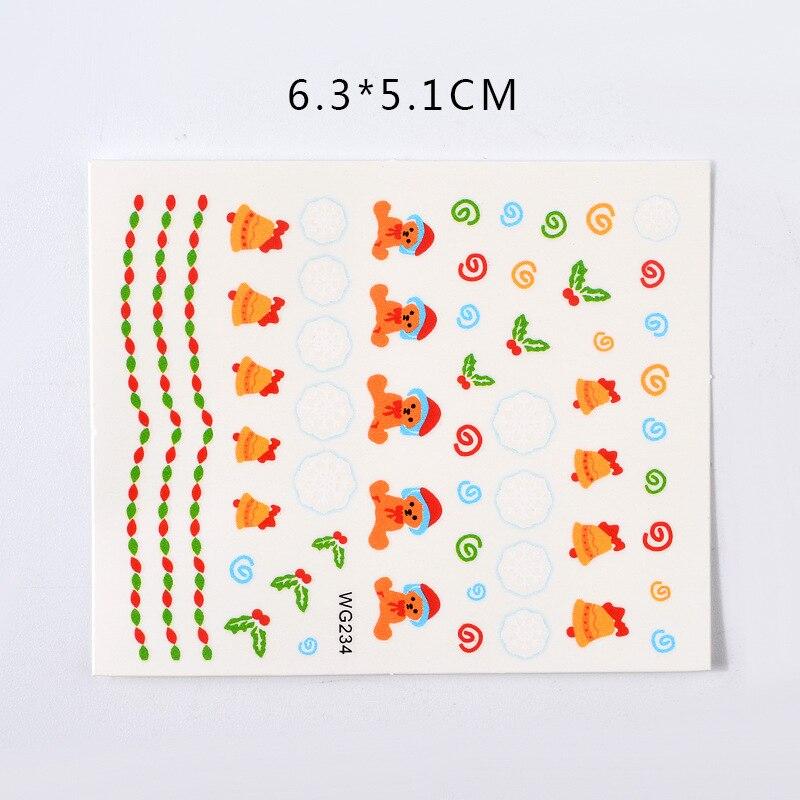 45 pcs set venda quente novas chegadas 3d decalque do prego e adesivos diy arte manicure