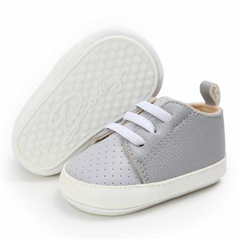 יילוד תינוק ילד נעליים ראשון הליכונים אביב סתיו תינוק ילד רך בלעדי נעלי תינוקות בד עריסה נעלי 0-18 חודשים 5