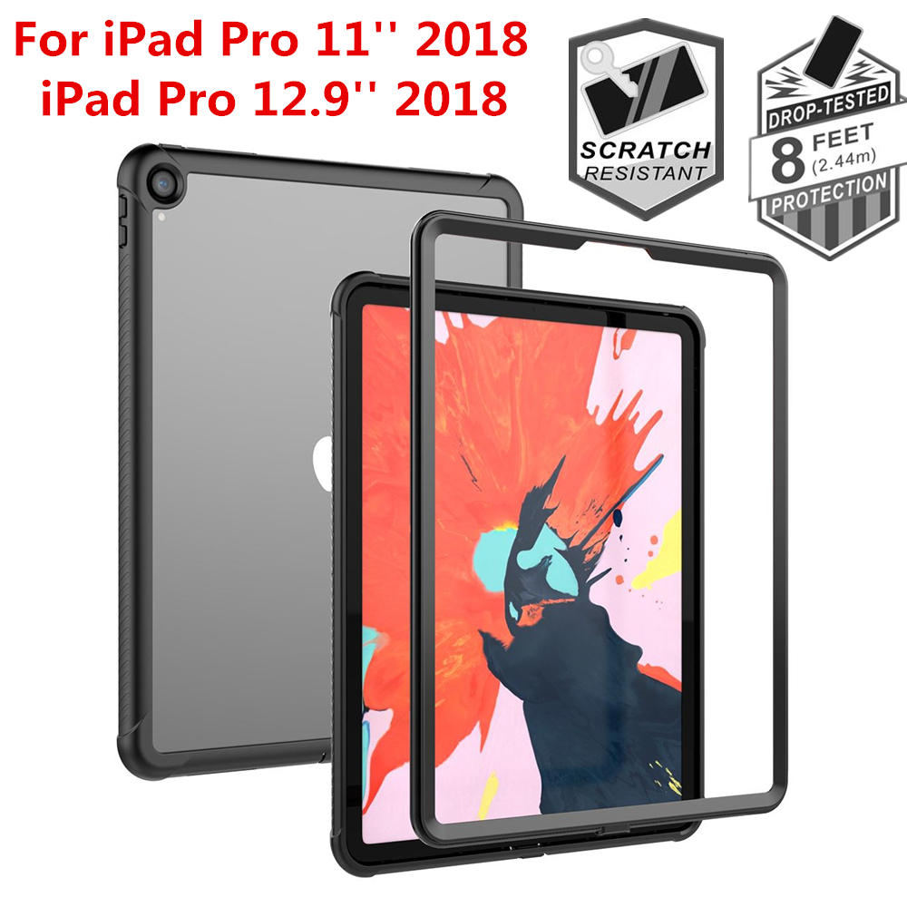 For Apple IPad Pro 11 2018 Tablet Case 360 Degree Protection Dustproof Shockproof Anti-scratch Cover For IPad Pro 12.9 2018 Case