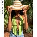 BOOFEENAA Sexy Bralette Crop Top Y2k Sommer Kleidung für Frauen Featival Strand Club Tragen Open Back Halter Tanks Camis C85-AC10