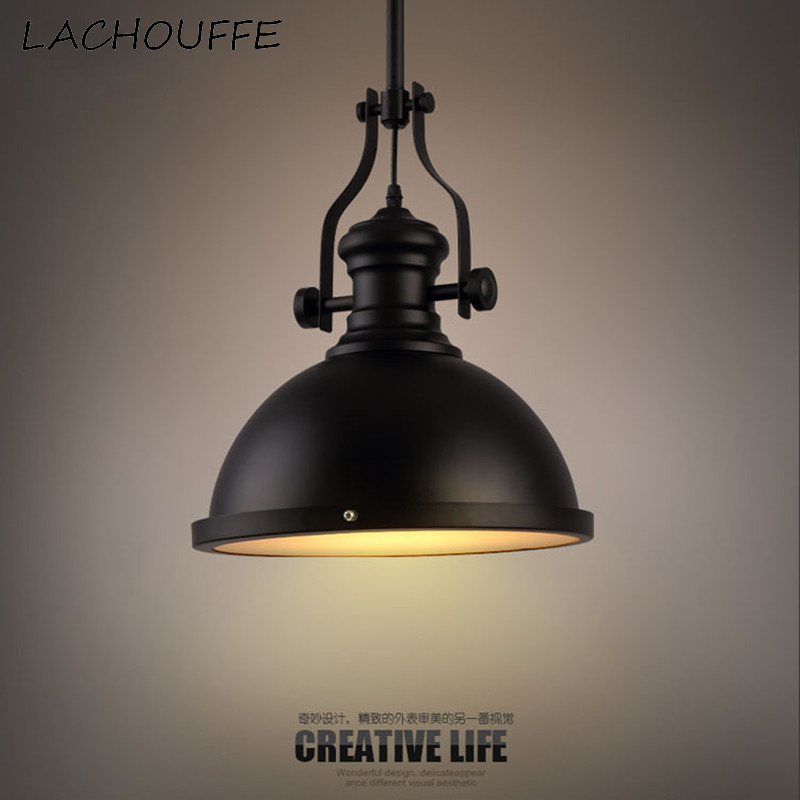 Nordic Retro Pendant Lights Industrial Led Hanging Lamp font b Dining b font Room font b