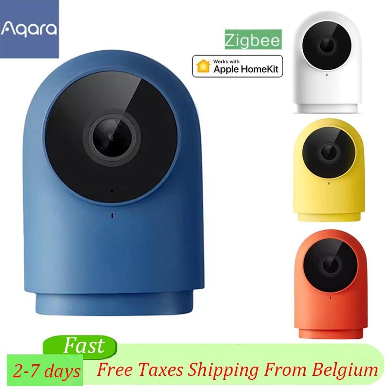 Original aqara g2h câmera 1080p hd visão noturna móvel para apple homekit app monitoramento g2 h zigbee câmera de segurança em casa inteligente