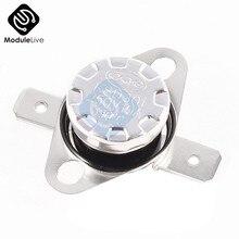 Normalmente abierto o cerrado KSD301 10A 2 uds 250V 40-135 grados de baquelita KSD301Temperature interruptor termostato Sensor de 60 65 70 75 80 90