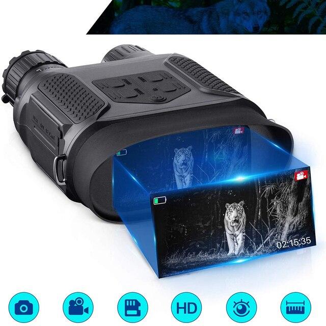 7x31 ดิจิตอลอินฟราเรด HD Night Vision อุปกรณ์ Widescreen การล่าสัตว์ Optics Sight วิดีโอการถ่ายภาพกล้องส่องทางไกลกลางคืนกล้องไม่มีขาตั้งกล้อง