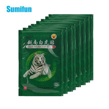 16/48 pces vietnã branco tigre bálsamo articulações dores remendo da dor reumatismo artrite adesivo médico chinês gesso cuidados de saúde c068