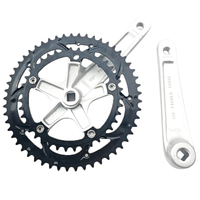 Mi.Xim Road Bike Crankset 53 39 Sprocket Wheel Bicycle Crankset Aluminum Alloy Folding Sprocket Wheel Square Hole for Mountain R|Handlebar Tape|   -