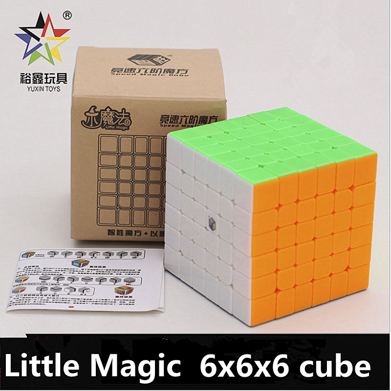 Yuxin 6x6x6 Cube Little Magic 6x6x6 Magic Cube Yuxin 6x6x6 Speed Cube Zhisheng 6x6 Puzzle Cube Education Puzzle Kid Toys