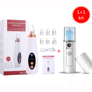 Blackhead Remover Face Deep Cleaner T Zone Black Head Remover Pore Acne Pimple Removal Vacuum Suction Facial Beauty Clean Tool
