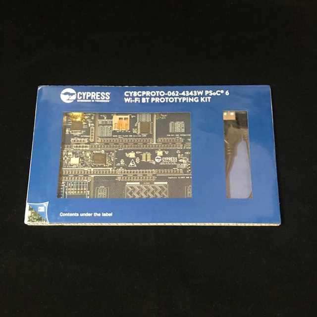 CY8CPROTO 062 4343W ARM PSoC6 WiFi  BT ultra low power kit Development Board