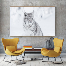 Lynx Snow Wild Animal Wallpaper Wall Art Canvas Poster And Print Canvas Painting Oil Decorative Picture Living Room Home Decor sleeping sexy model wall art canvas poster and print canvas painting decorative picture modern living room home decor framework