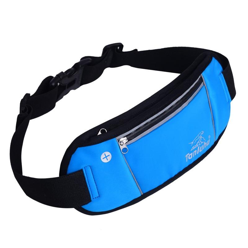 Waterproof Running Waist Bag Sports Jogging Outdoor Portable Portable Sport Fitness Women Men Belt Phone Stand Accessories