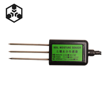 High Quality RS485 Soil temperature and humidity sensor soil temperature and humidity sensor soil moisture sensor agricultural greenhouse soil monitoring rs485