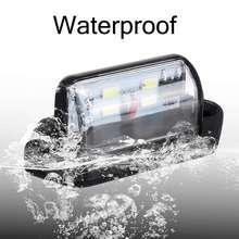 12V 24V 4 LEDs LED 2pcs Car Truck Number License Plate Light Rear Lamp Tail Light for Trailer Boat RV