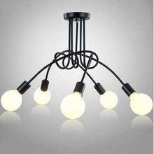 LED أضواء السقف الإنارة ضوء المصباح السقف تركيبات بريق الإنارة Plafonnier لغرفة المعيشة المنزل الإضاءة lamvillage Loft