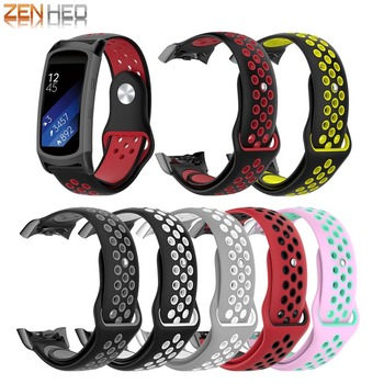 цена на Silicone Wrist Strap For Samsung Gear Fit2 Pro R350 Watch Band Replacement Watchband For Samsung Gear Fit 2 SM-R360