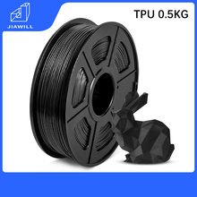 Materiais macios da resistência do envelhecimento do filamento da impressão do plástico 1.75mm 0.5kg 3d da impressora do filamento de tpu 3d para fontes médicas