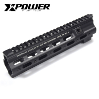 XPOWER 416 Rail Handguard Paintball Accessories M LOK MOD For AR AEG Airsoft M4A1 CS Outdoor Tactical Sports Receiver Gearbox