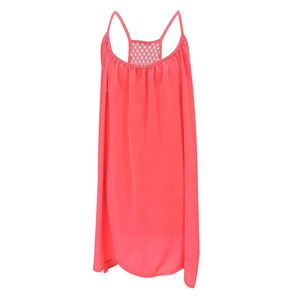 Image 5 - 2018 Summer Style Women Clothing Beach Dress Fluorescence Female Summer Dress Chiffon Voile Women Dress Plus Size