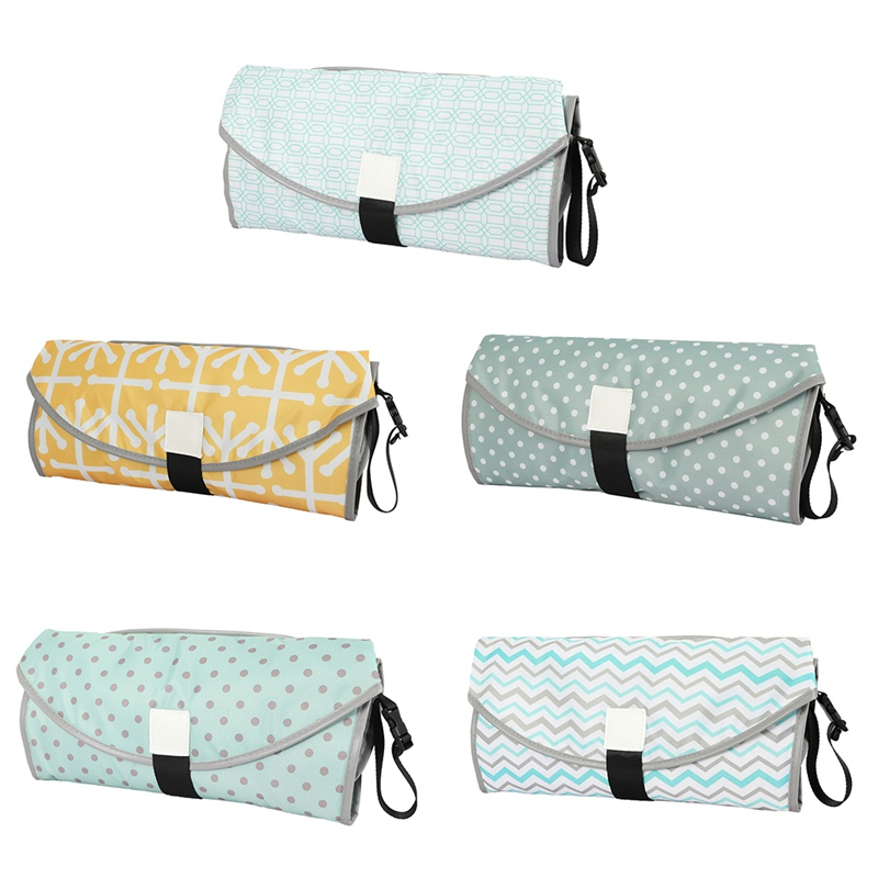 New Baby Changing Pads Multifunctional Portable Infant Baby Foldable Urine Mats Waterproof Nappy Bag Travel Diaper Fitness Cover|Outdoor Tools| |  - title=