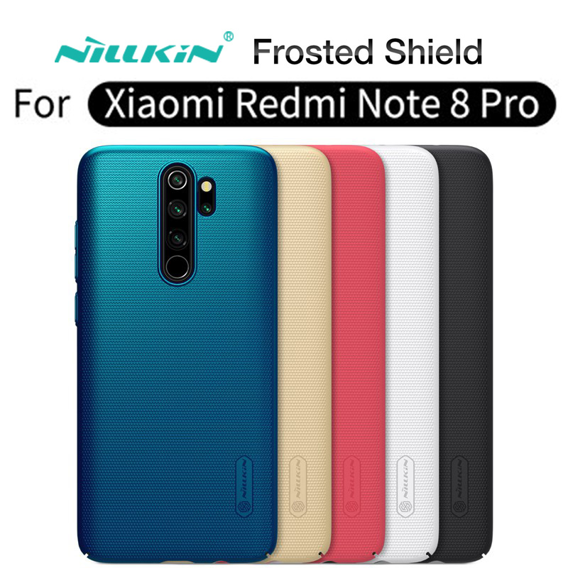"Matte robuste fall für ""Redmi Note 8 Pro / Redmi Note 8"", Original NILLKIN hohe qualität stoßfest handy fall"