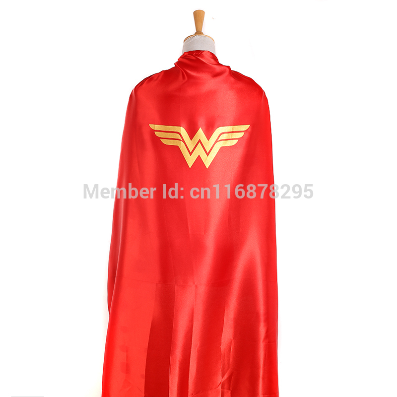55inch/140cm Wonder Woman Cape For Adults