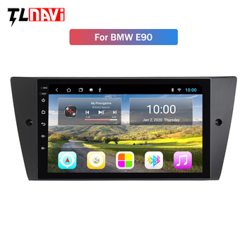 2G RAM 9 inch Android 9 Car Radio DVD Player For BMW E90/E91/E92/E93 3 Series Multimedia GPS Navigation stereo Audio image