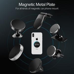 GETIHU 3 шт./лот Магнитная металлическая пластина для автомобильного держателя телефона Универсальный железный лист диск 3 М наклейка крепление для мобильного телефона Магнитная подставка