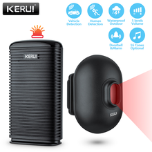 KERUI-alarme de sécurité sans fil DW9, détecteur de mouvement PIR, sans fil, étanche, système de sécurité pour patrouille dans le Garage, bienvenue anti-cambriolage