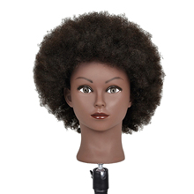 Salon Hair Styling Hairdressing Practice Doll Head Training Mannequin for Hairdresser Practice Hair Styling