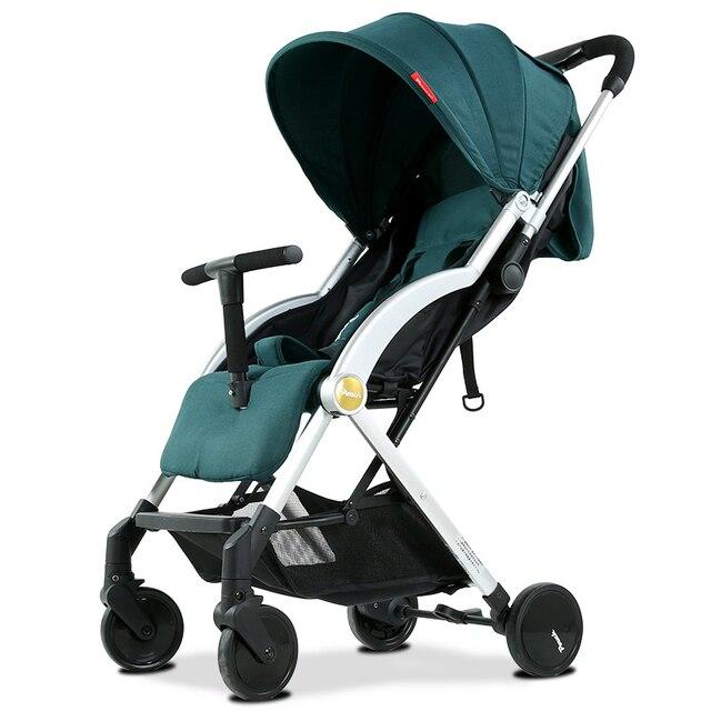 Mãe quente 3 em 1 luz assento de carro do bebê com rodas assento portátil guarda-chuva dobrável carrinho de bebê e carrinho de criança