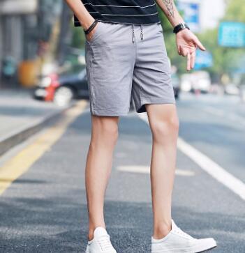 ZNG Men's Casual Pants Men's Print Five Minute Pants Teen Summer