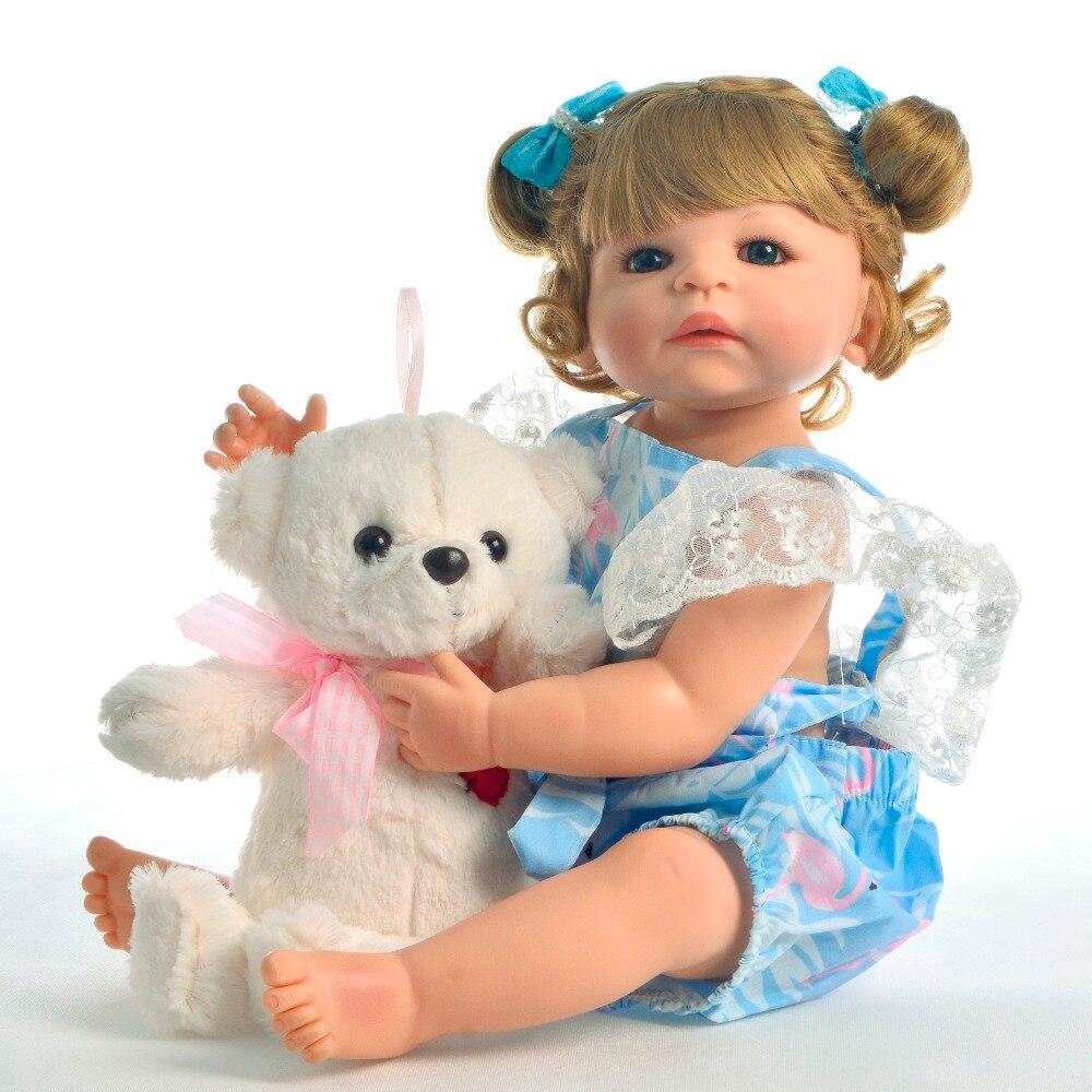 Poupées bébé en Silicone Reborn en vinyle fille vivante bebes Reborn bébé poupée lol jouets enfants cadeaux surprises