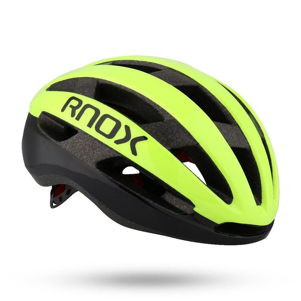 RNOX Ultralight Road Bike Helmet 185g Intergrally-molded Mountain MTB Helmets Aero Bicycle Safety Sport Cap Casco Ciclismo