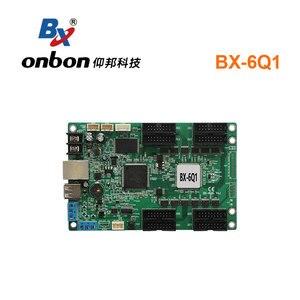 Image 1 - Onbon BX 6Q1ผ้าสำลีสีController Asynchronous RGB Ledควบคุมอุปกรณ์เปลี่ยนBX 5Q1สำหรับร้านค้าขนาดเล็กหน้าจอ