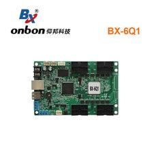 Onbon BX 6Q1まぐさフルカラーコントローラ非同期rgb ledディスプレイ制御装置のためのショップBX 5Q1交換画面