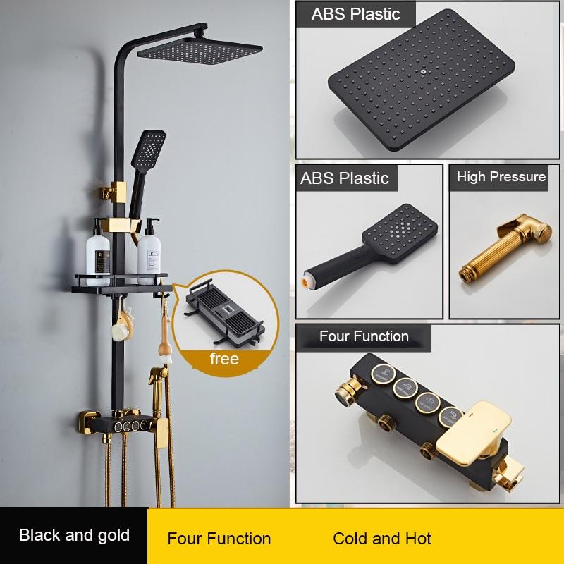 black and gold E