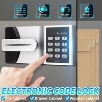 Smart Electronic Password Lock Cabinet Door Code Lock Keypad Number Digital Security Password Lock Kit DC 6V Access Control