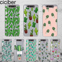 Ciciber Phone Case Cover for Samsung Galaxy A50 A70 A80 A60 A40 A30 A20 A10 A20e Soft Silicone TPU Fundas Tropical Plants Cactus