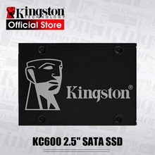 Kingston NEW KC600 Internal Solid State Drive 256GB 512GB SATA 3 2.5 inch Hard Disk HD