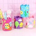 5 Teile/satz Kinder DIY Handwerk Bleistift Halter Pädagogisches Spielzeug Für Kinder Kreative Handarbeit Stift Container Kunst Und Handwerk Spielzeug Geschenke
