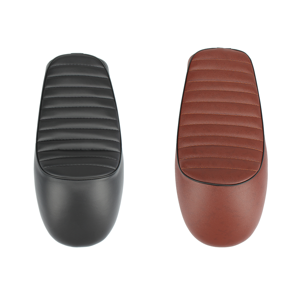 Motorcycle Racer Seat Custom Vintage Hump Saddle Flat Pan Retro Seat For Honda CG Series Motorcycle Accessories