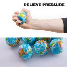 2PCS Stress Relief World Map Jumbo Ball Atlas Globe Palm Ball Planet Earth Ball Toy outdoor balls gift for adult and kid(China)