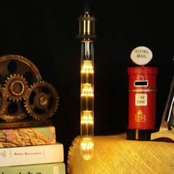 T28X300 звезды светодиодный фейерверк метеоритный душ винтажная креативная декоративная труба свет 3 Вт E27