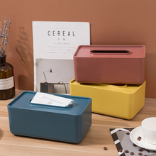 Wooden Cover Paper Tissue Box Cover With Mobile Phone Grooved Paper Office Supplies For Home Hotel Car Tissue Holder Organizer flower print tissue cover