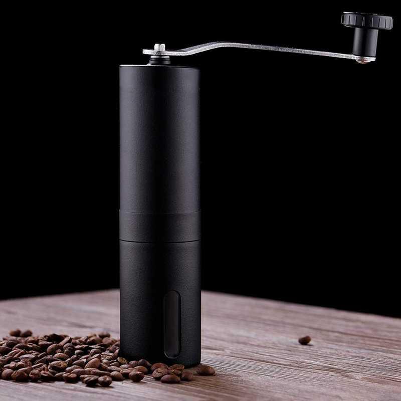 Moulin à café manuel, moulin conique à grains entiers pour presse française/turc-le plus fort et le plus lourd, cadeaux pour l'amour du café