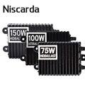 Niscarda 75W 100W 150W HID ксеноновый балласт H1 H3 H7 H8/H9/H11 9005/HB3 9006/HB4 комплект ксенонового балласта